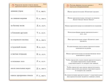 """Комплект карточек (10) """"Обучающий калейдоскоп. Имя прилагательное"""" - фото 57844"""