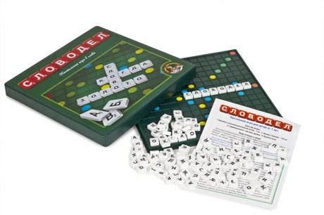 Настольная игра Словодел (пластиковый) - фото 57882