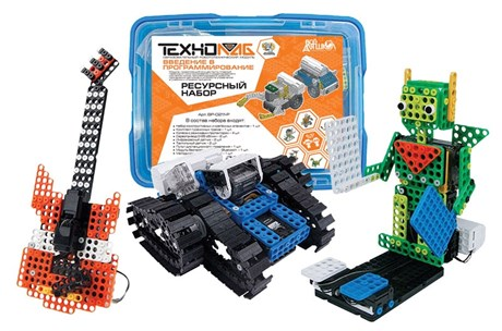 Образовательный робототехнический конструктор «Введение в программирование». Ресурсный набор 6-10 лет. - фото 57934