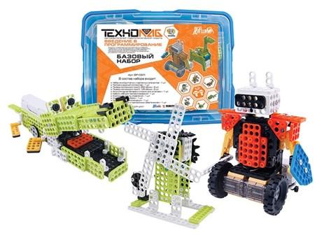 Образовательный робототехнический конструктор «Введение в программирование». Базовый набор 6-10 лет. - фото 57935