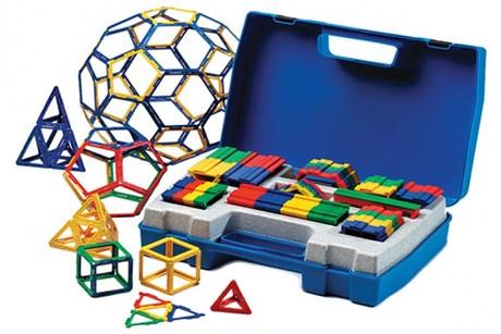 """Набор по основам математики, конструирования и моделирования Полидрон Каркасы """"Стереометрия"""" - фото 57943"""