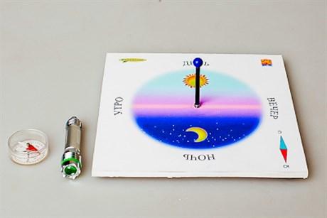 Экознайка-НШ2. Модель солнечных часов - фото 57953