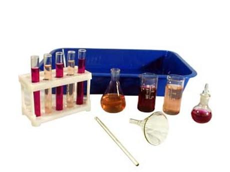 Набор хим. посуды и принадлежностей для лабораторных работ в нач.шк. (НПНЛ) - фото 57961