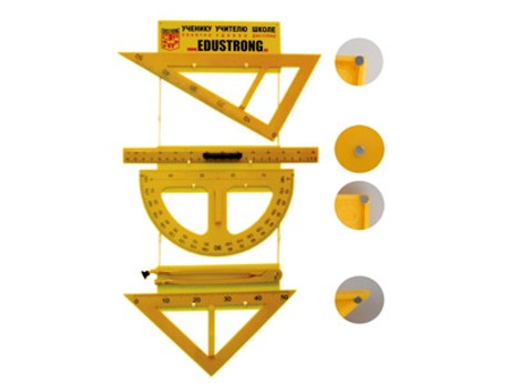 Комплект инструментов классных с магнитными держателями - фото 57988