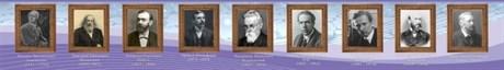 Стенд-лента Выдающиеся ученые химики - фото 58062