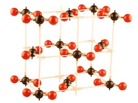 """Модель """"Кристаллическая решетка углекислого газа"""" (демонстрационная) - фото 58138"""