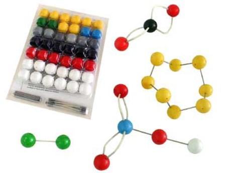 Набор атомов для составления моделей молекул (лаб.) - фото 58139