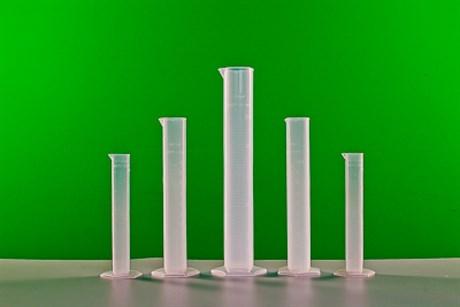 Комплект мерных цилиндров пластиковых (5 шт.) - фото 58159