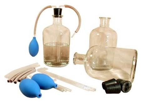 Набор склянок с дозатором для хранения растворов - фото 58198
