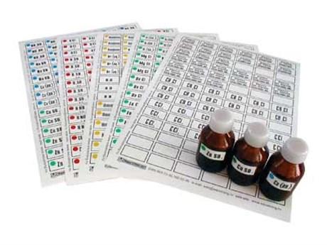 Набор этикеток самоклеющихся (лабораторный) - фото 58210