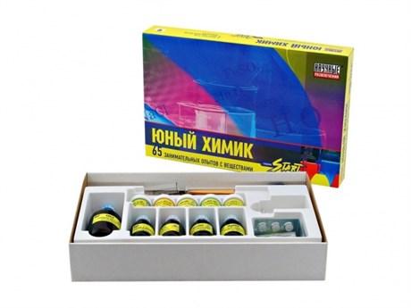 """Набор """"Юный химик Start"""" (65 экспериментов) - фото 58213"""