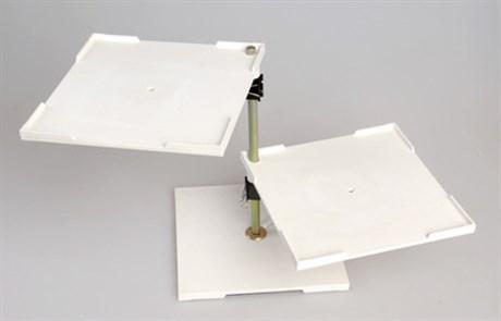 Столик подъемно-поворотный с 2-мя плоскостями - фото 58335