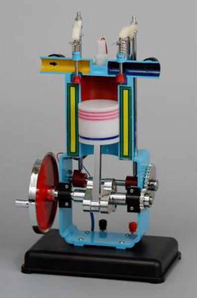 Модель двигателя внутреннего сгорания - фото 58372