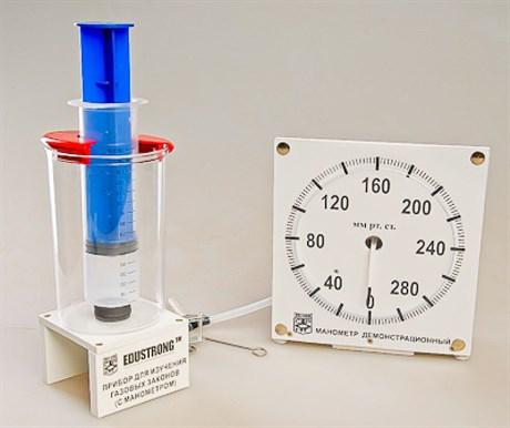 Прибор для изучения газовых законов (с манометром) - фото 58384