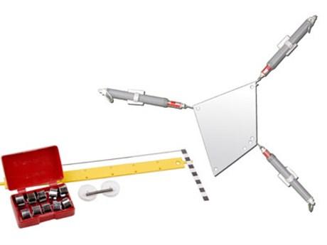 """Набор для демонстраций по физике """"Статика"""" (с магнитными держателями) - фото 58483"""