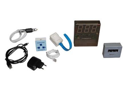 Датчик времени с независимой индикацией (счетчик-секундомер демонстрационный) - фото 58498
