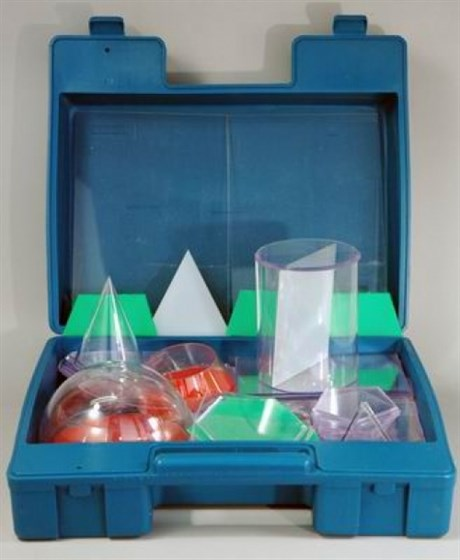 Набор прозрачных геометрических тел с сечениями (разборный) - фото 58624