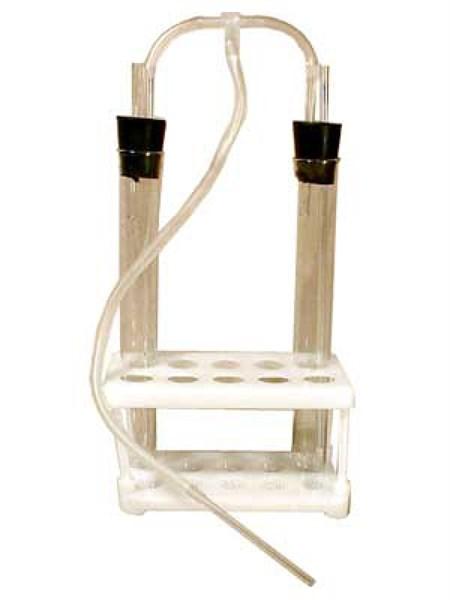 Прибор для сравнения содержания СО2 во вдыхаемом и выдыхаемом воздухе - фото 58823
