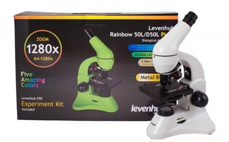 Микроскоп Levenhuk Rainbow 50L PLUS - фото 58845