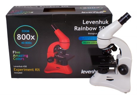 Микроскоп Levenhuk Rainbow 50L - фото 58855