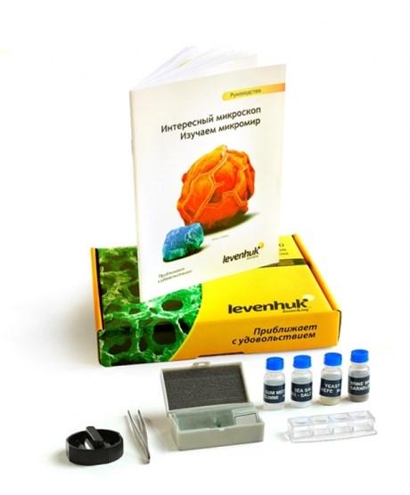 Набор для опытов с микроскопом Levenhuk K50 - фото 58859