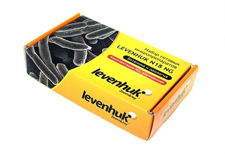 Набор готовых микропрепаратов Levenhuk N18 NG (ботаника и зоология) - фото 58860