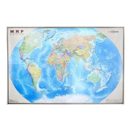 Карта Мира Политическая, 190*140см - фото 59040