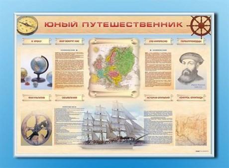 """Стенд-уголок """"Юный путешественник"""" - фото 59081"""