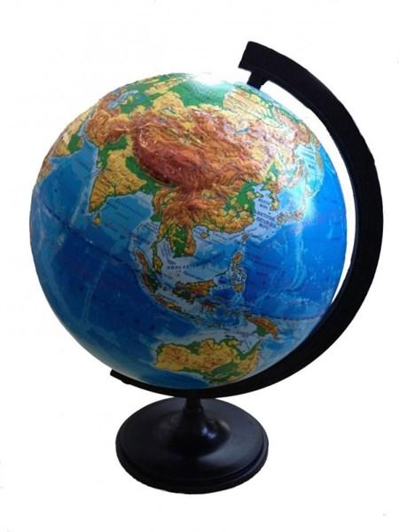 Глобус   физический   рельефный  д.320 - фото 59129