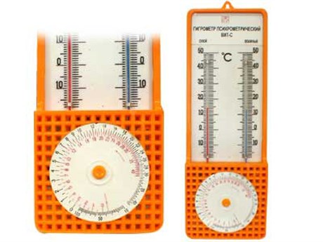 Гигрометр психрометрический - фото 59141
