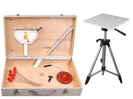 Комплект приборов и инструментов топографических (дем.) - фото 59146