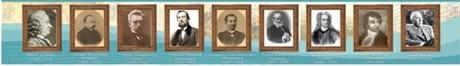 Стенд-лента Великие ученые историки - фото 59170