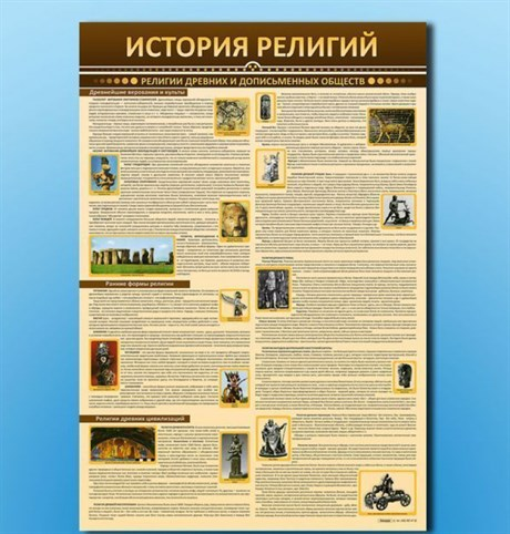 """Стенды """"История религий"""" - фото 59195"""