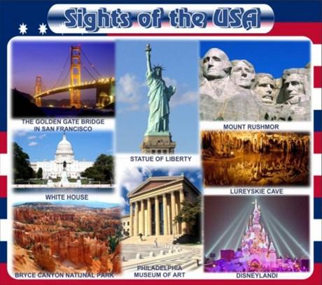 Стенд Достопримечательности США - фото 59276
