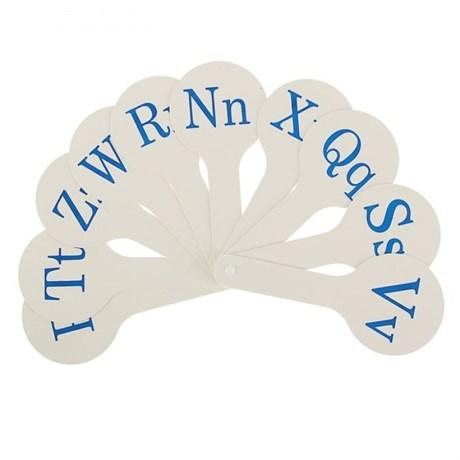 Касса-веер английские согласные буквы - фото 59968