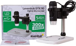 Микроскоп цифровой Levenhuk DTX 90  - фото 730749