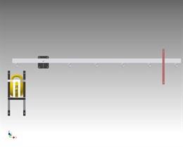 Интерактивный  экспонат «Рычаг»