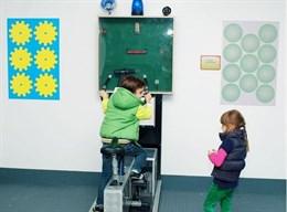 Интерактивный экспонат Велогенератор