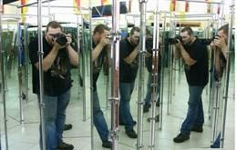 Интерактивный  экспонат «Зеркальный лабиринт»