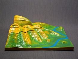 """Модель """"Вулканическая поверхность.  Формирование гор"""""""