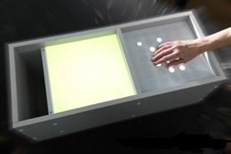 Интерактивный стол «МАЛЫШ», совмещенный со столом для рисования пескам и кармашком для песка