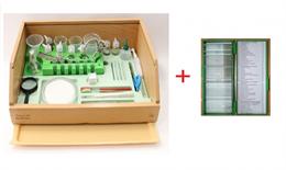 Биологическая микролаборатория с микропрепаратами