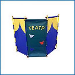 Ширма трехсекционная двойная «Театр-Цирк»