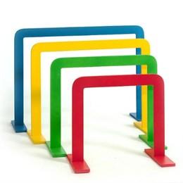 Дуги спортивные для подлезания прямоугольные, Комплект 4 штуки.