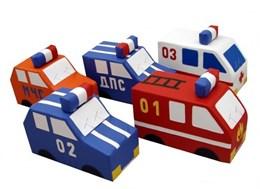 Машина (ДПС, пожарная, полиция, скорая)