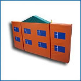 Игровой модуль «Ширма-дом»
