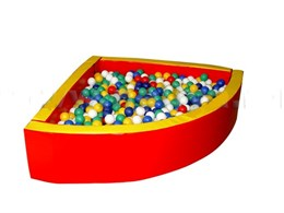 Сухой бассейн разборный угловой (r-150см)