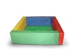 Сухой бассейн разборный квадратный , 150см