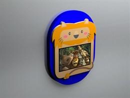 """Детский интерактивный настенный комплекс """"Львенок"""""""