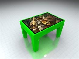 "Детский интерактивный столик ""Кубик"""